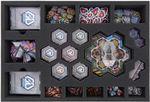 Feldherr Schaumstoff-Set für Galaxy Defenders Brettspiel-Box
