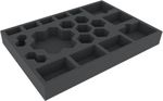 Feldherr foam tray set for Galaxy Defenders board game box