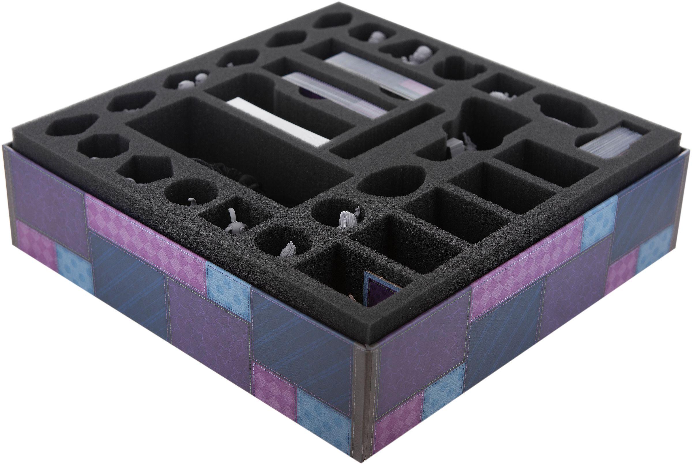 Feldherr foam tray set for Stuffed Fables board game box