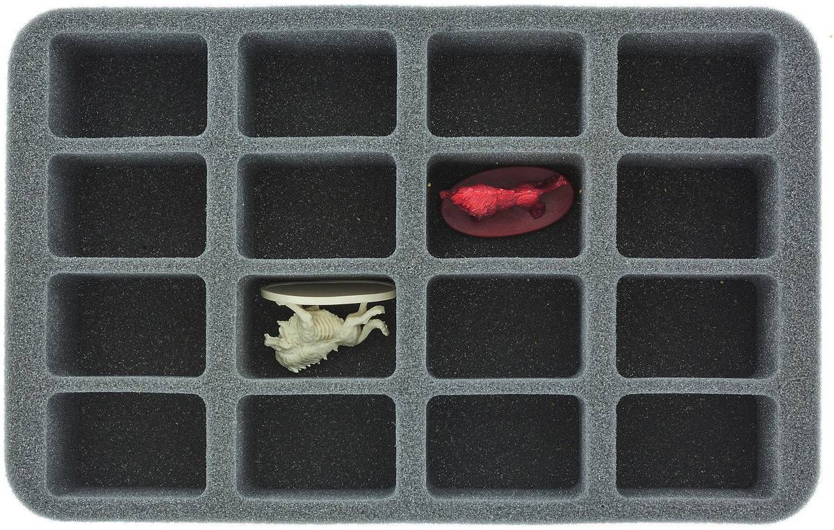 HS035DC15 Foam Tray for Descent: Journeys in the Dark 2nd Edition - 16 figures