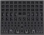 FSMEDD030BO foam tray with 97 compartments for Star Wars Rebellion + Rise of the Empire - Empire miniatures