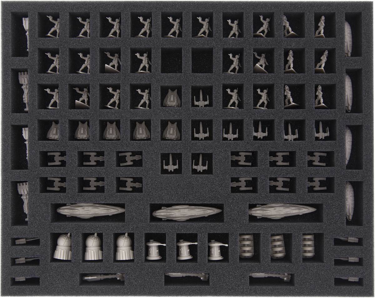 FSMEDD030BO with 86 compartments for Star Wars Rebellion + Rise of the Empire- Rebels