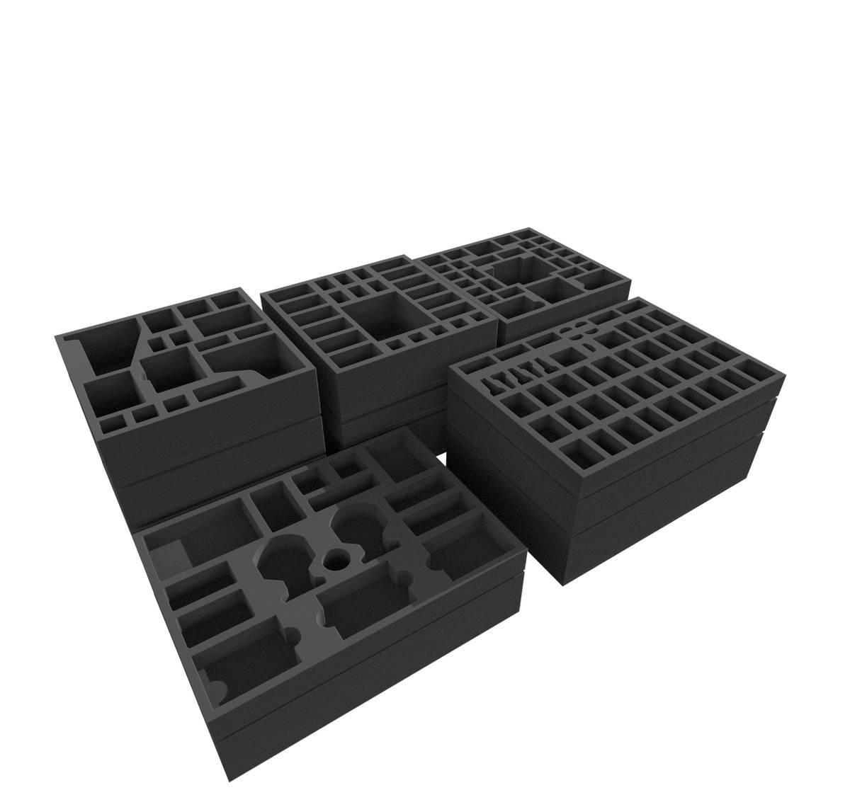 Feldherr foam tray kit for the complete Mythic Battles: Pantheon Kickstarter God Pledge