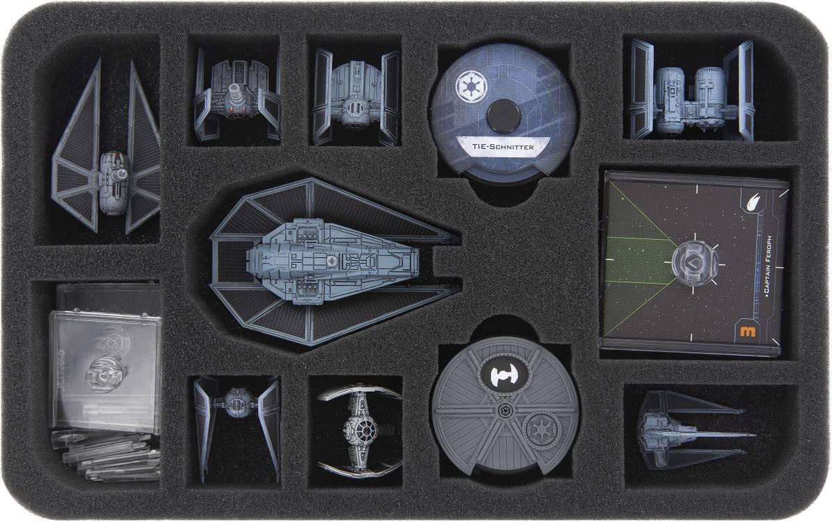 HSMEEE035BO foam tray for Star Wars X-Wing TIE Reaper