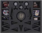 FSMEDF050BO Schaumstoffeinlage mit 23 Fächern für Star Wars Rebellion + Aufstieg des Imperiums - Imperium-Miniaturen + Spielmaterial