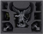 FSMEES120BO foam tray for Mortarion + Foetid Bloat-drone + 5 Nurgle miniatures