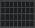 FSMEDS045BO 45 mm Schaumstoffeinlage mit 32 Fächern