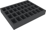 FSMEDS045BO 45 mm (1.77 inches) foam tray with 32 slots - full-size