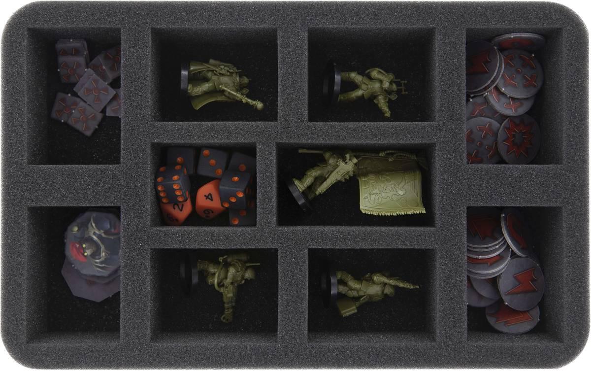 HS050KT02 Schaumstoffeinlage für Kill Team: Tempestus Scions