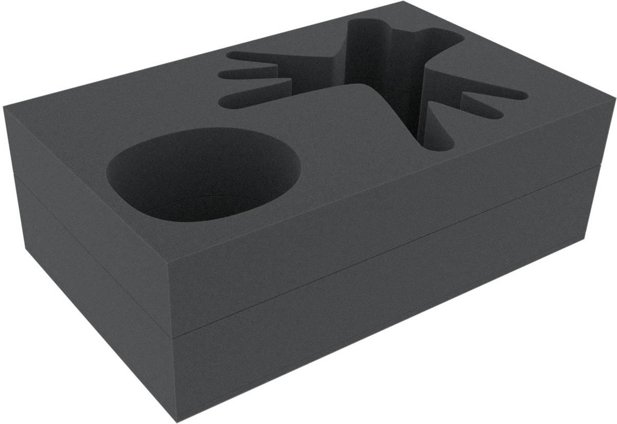 Feldherr foam tray set for KDM 1.5 Wave 2: Spidicules, Sunstalker and three small minis