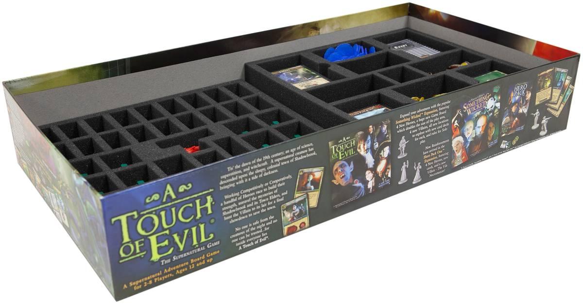Feldherr foam tray set for Fortune & Glory board game box