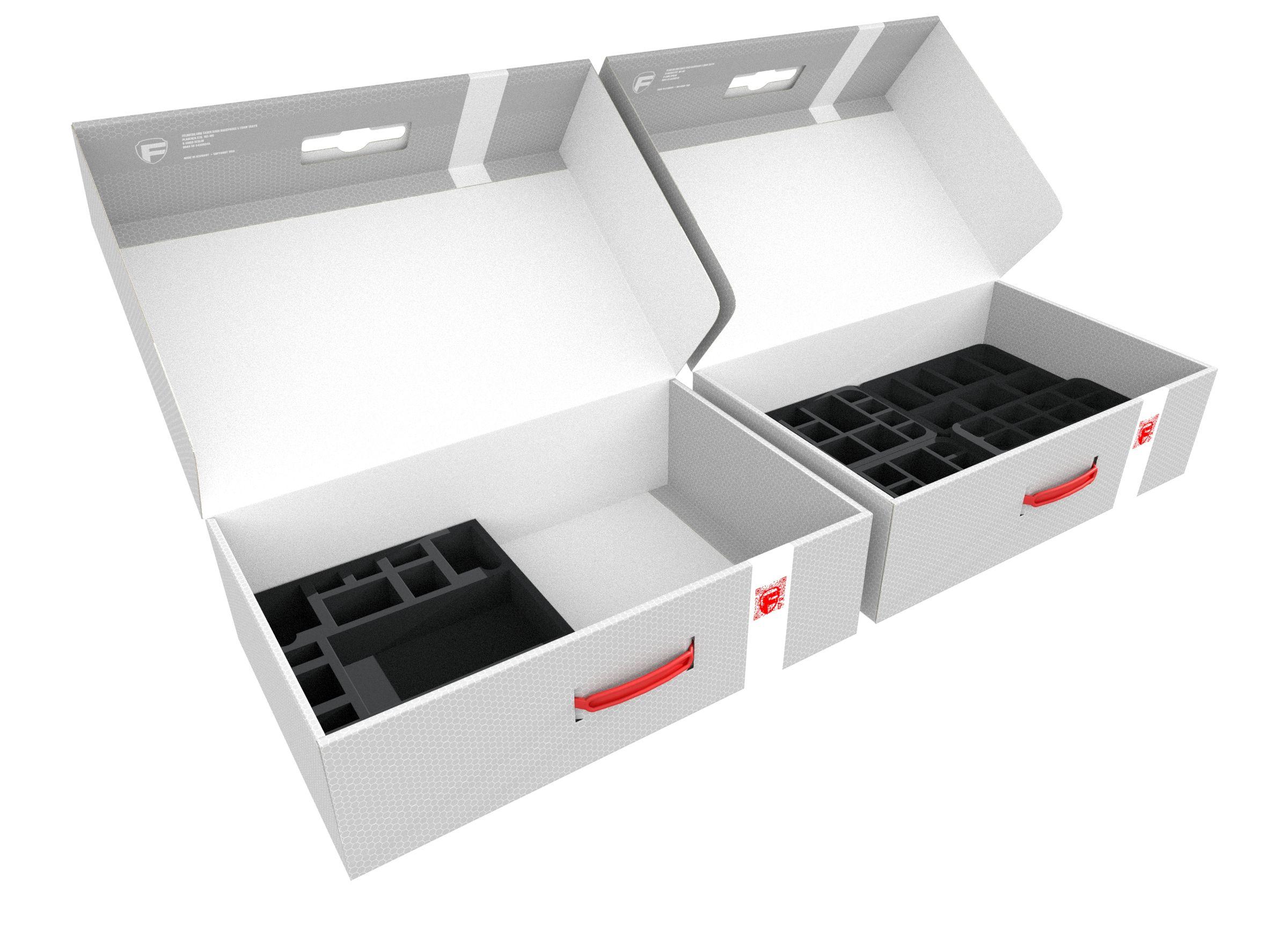 Feldherr Sortiereinsatz Schaumstoff-Set passgenau für Zombicide Green Horde Box