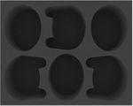 FSMEFT090BO foam tray for 3 Warlord Battle Titans