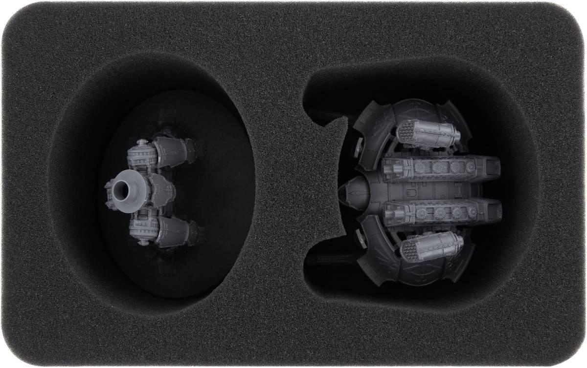 HSMEFS090BO Schaumstoffeinlage für 1 Warlord Battle Titan