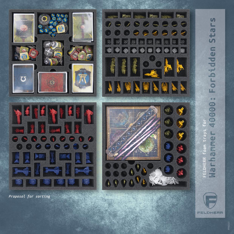 PP002551 - Flyer for Warhammer 40000: Forbidden Stars