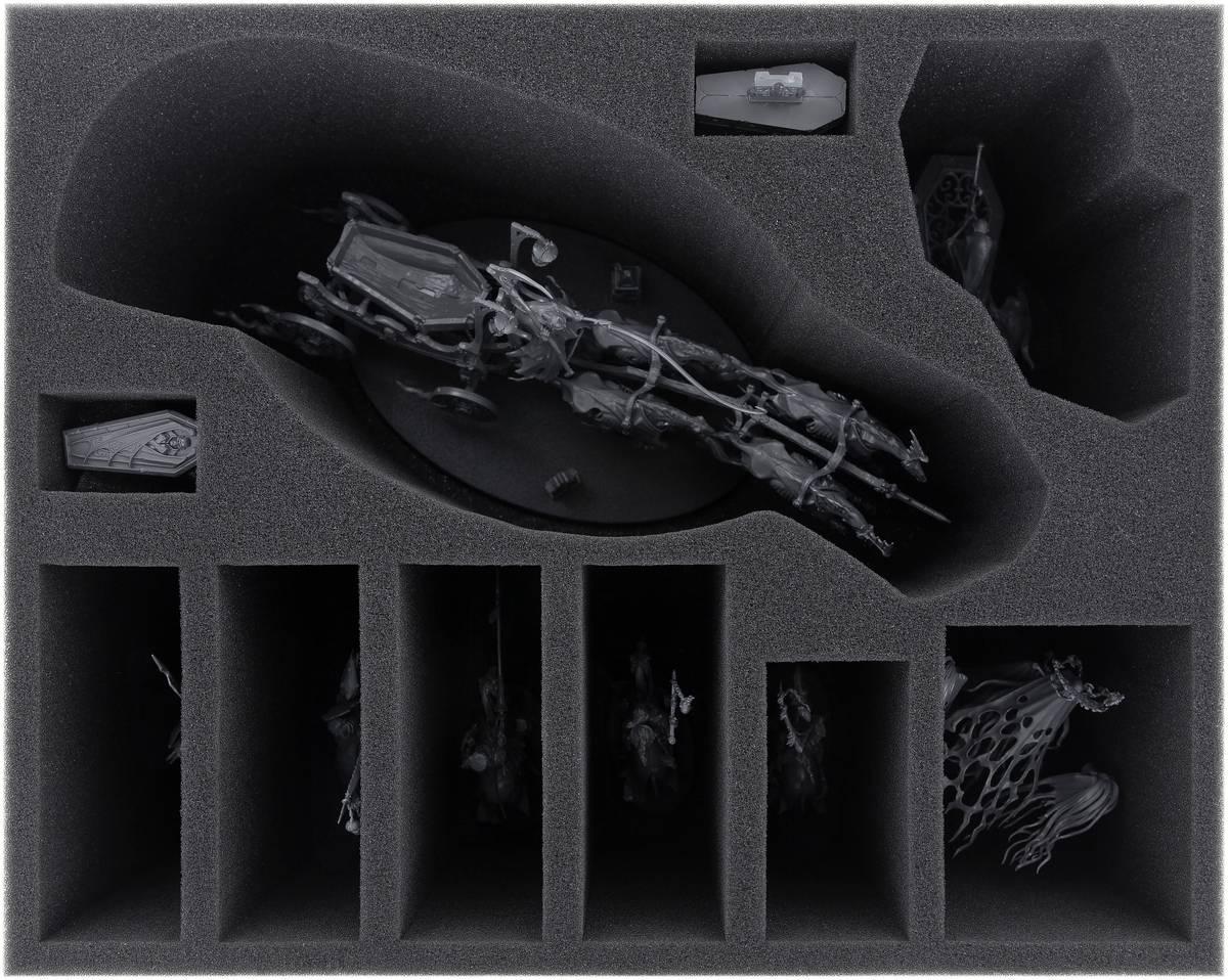FSMEFD130BO foam tray for Nighthaunt: Black Coach + Lady Olynder + Hexwraiths