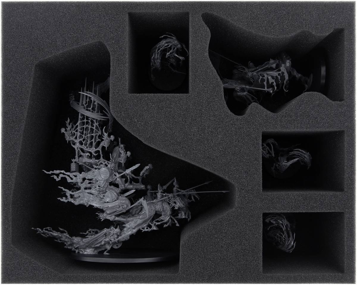FSMEFE105BO foam tray for Nighthaunt: Mortis Engine + The Craven King + Spirit Hosts