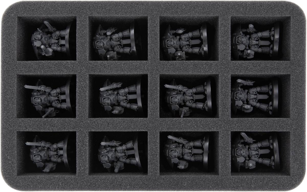 HS050WH29 Half-Size foam tray for Adeptus Titanicus: Imperial Knights
