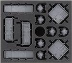 Feldherr Schaumstoff-Set für Adeptus Titanicus: Grossmeister-Edition Brettspielbox