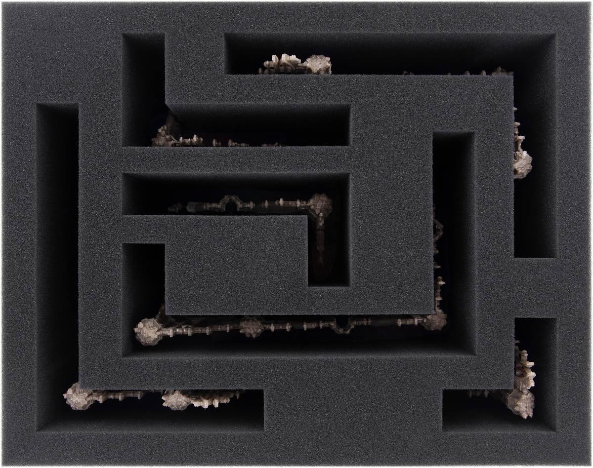 FSMEFZ115BO Schaumstoffeinlage für Kill Team: Sector Imperialis Ruinen (6 Teile)