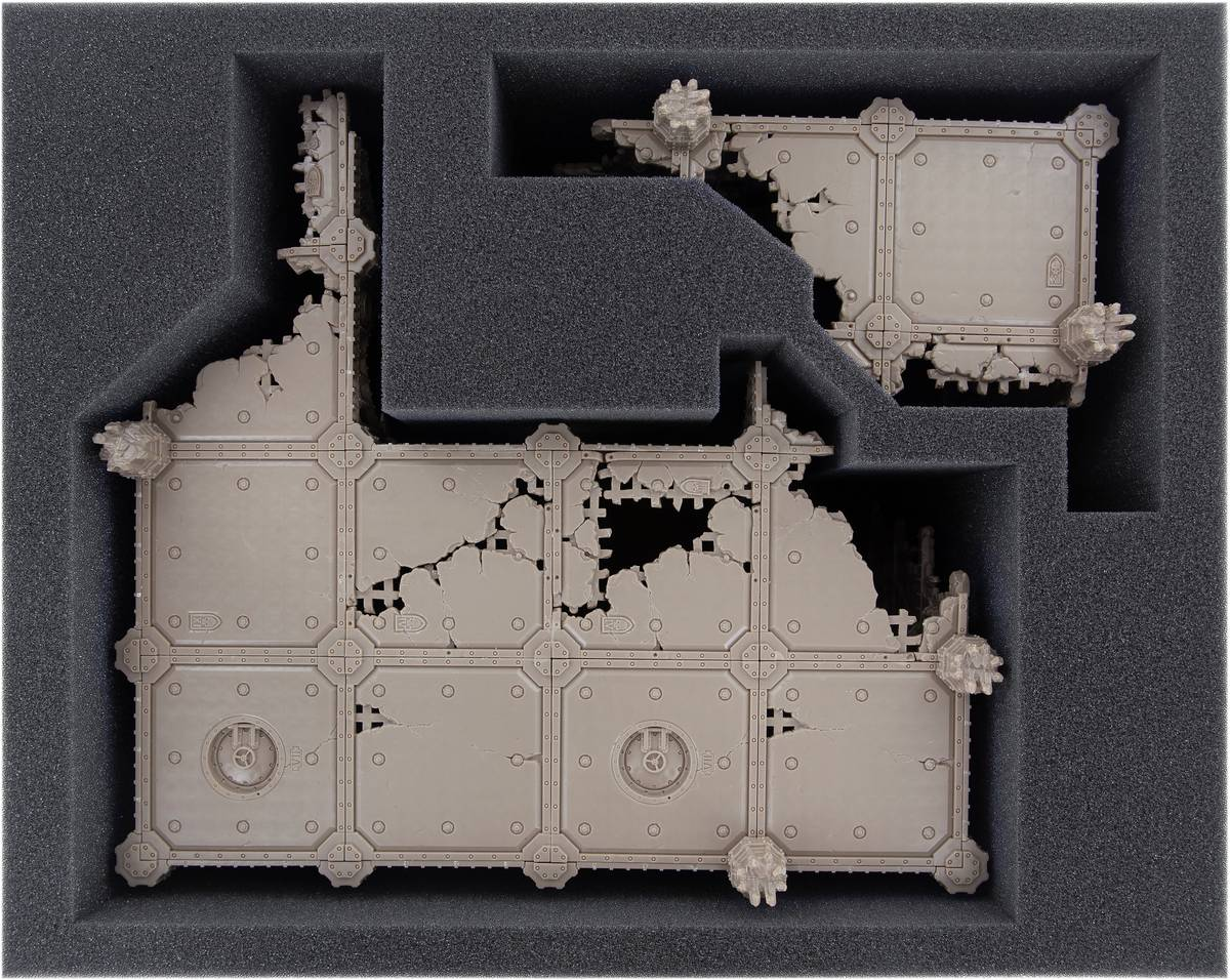 Feldherr Schaumstoff-Set für Kill Team: Sector Imperialis Ruinen