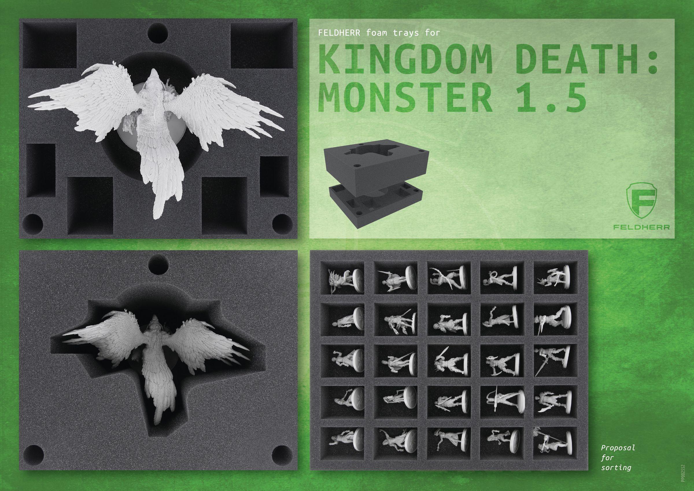 PP002552 - Flyer for Kingdom Death: Monster 1.5
