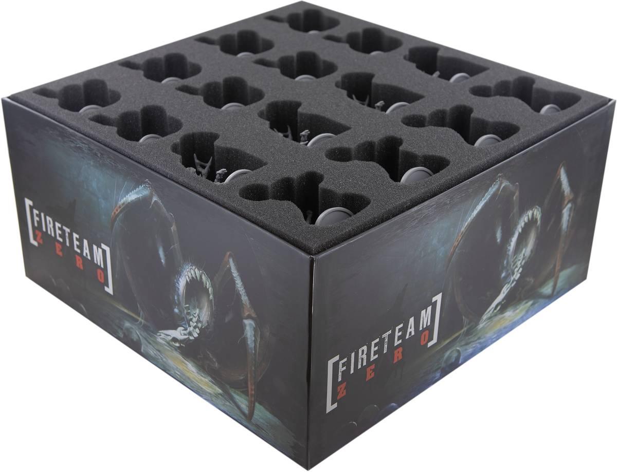 Feldherr Schaumstoff-Set für Fireteam Zero Brettspiel-Box