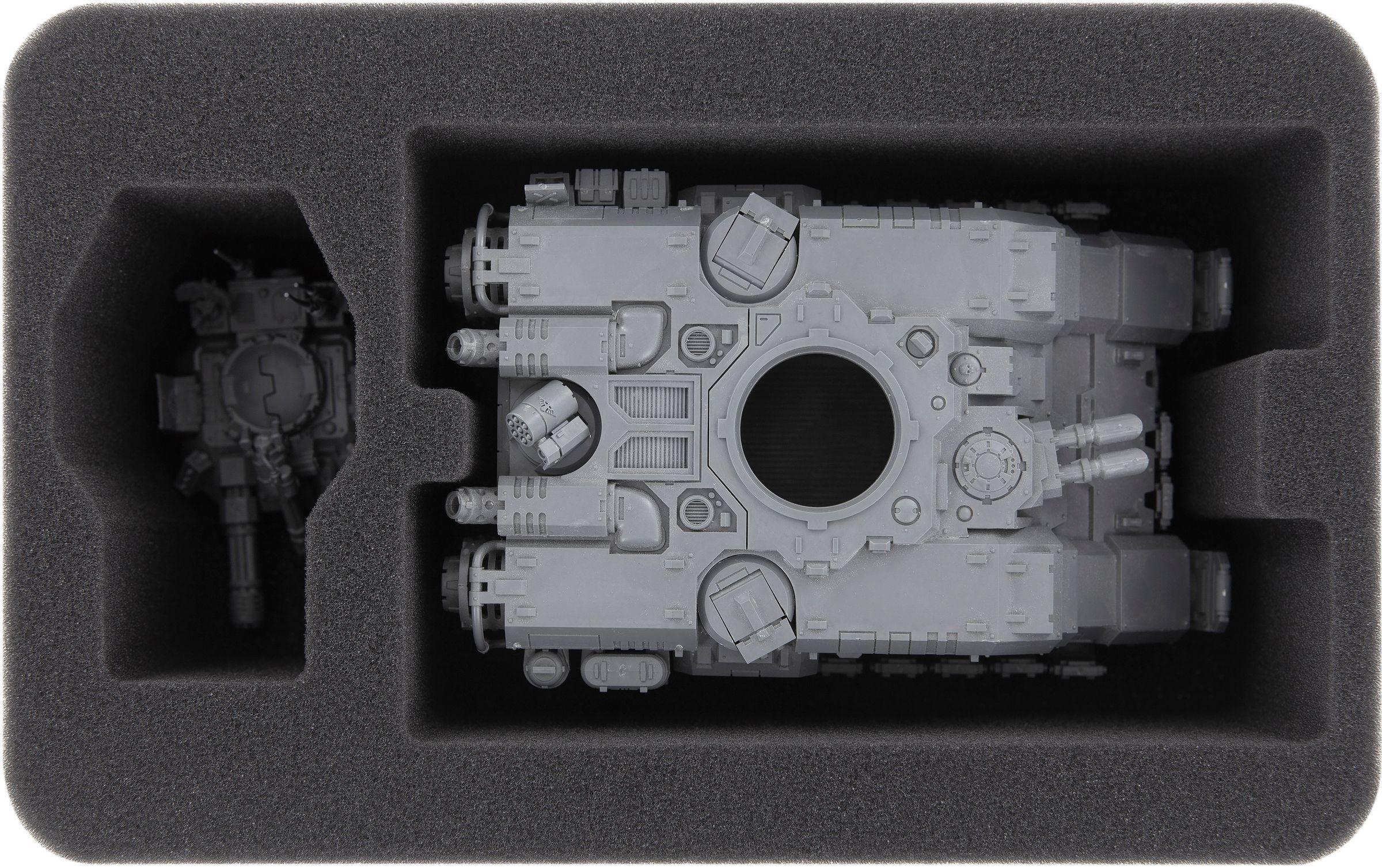 HSMEGC090BO foam tray for Primaris Repulsor | Feldherr Worldwide