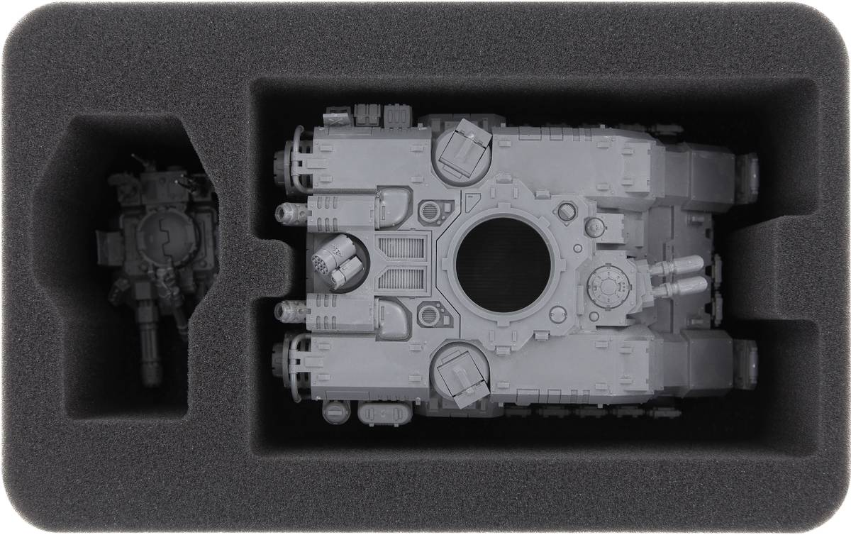 HSMEGC090BO foam tray for Primaris Repulsor