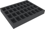 FS040WH23 40 mm foam tray for Warhammer - 32 compartments