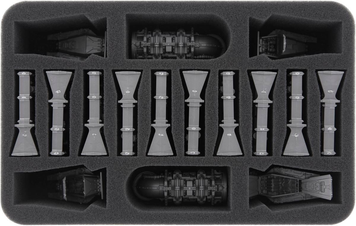 HSMEGE060BO Schaumstoffeinlage für Kill Team: Rogue Trader Geländeteile