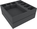 Feldherr Foam Tray Set for Rise of Moloch board game box