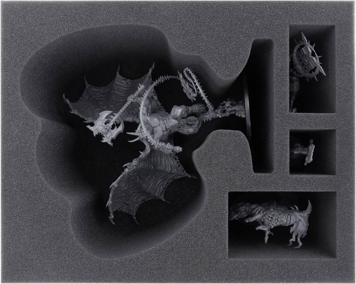 FSMEGD130BO Schaumstoffeinlage für Daemons of Khorne Bloodthirster