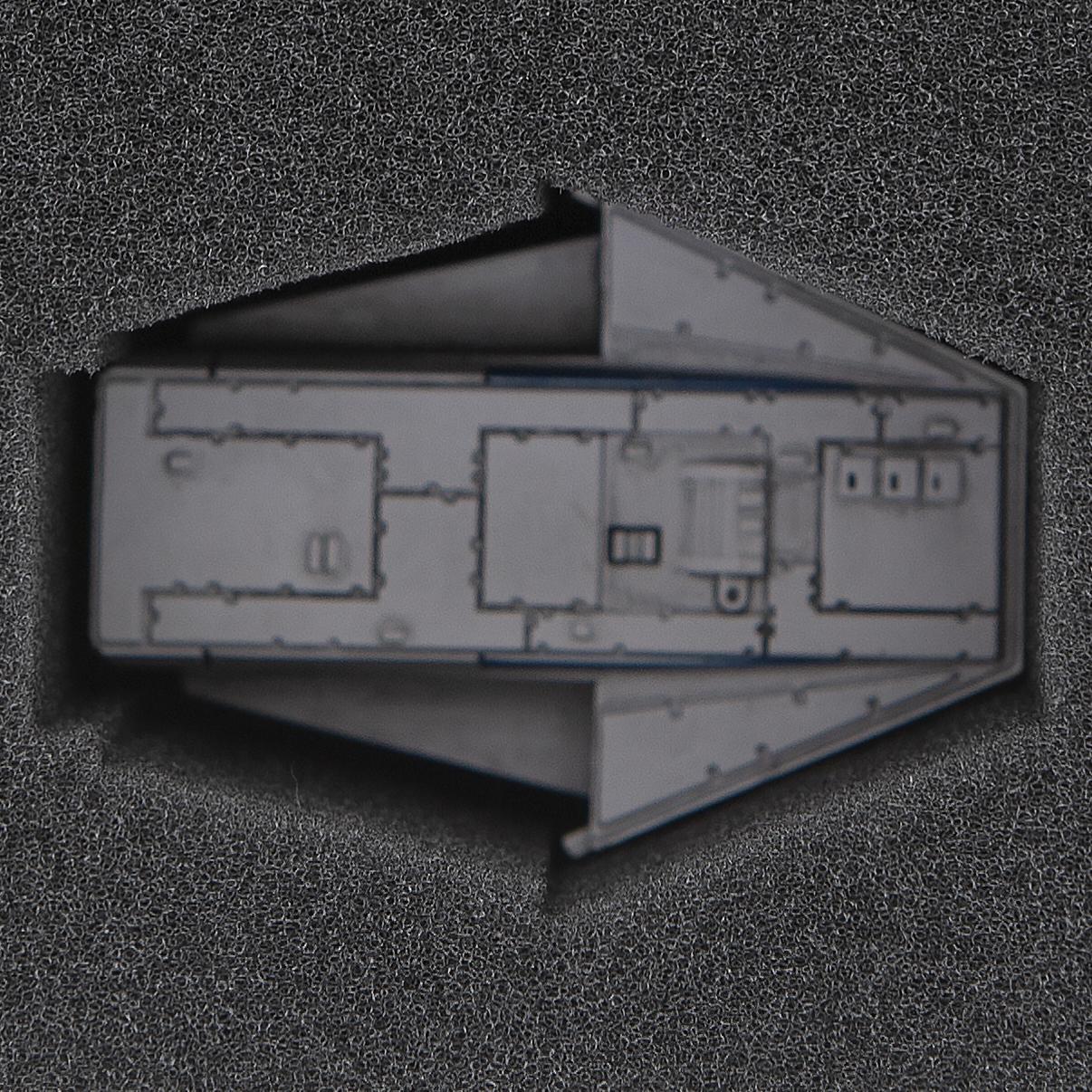 foam tray for Star Wars X-Wing