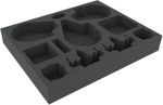 FSMEGQ050BO foam tray for Star Wars X-Wing: 3 x Millennium Falcon