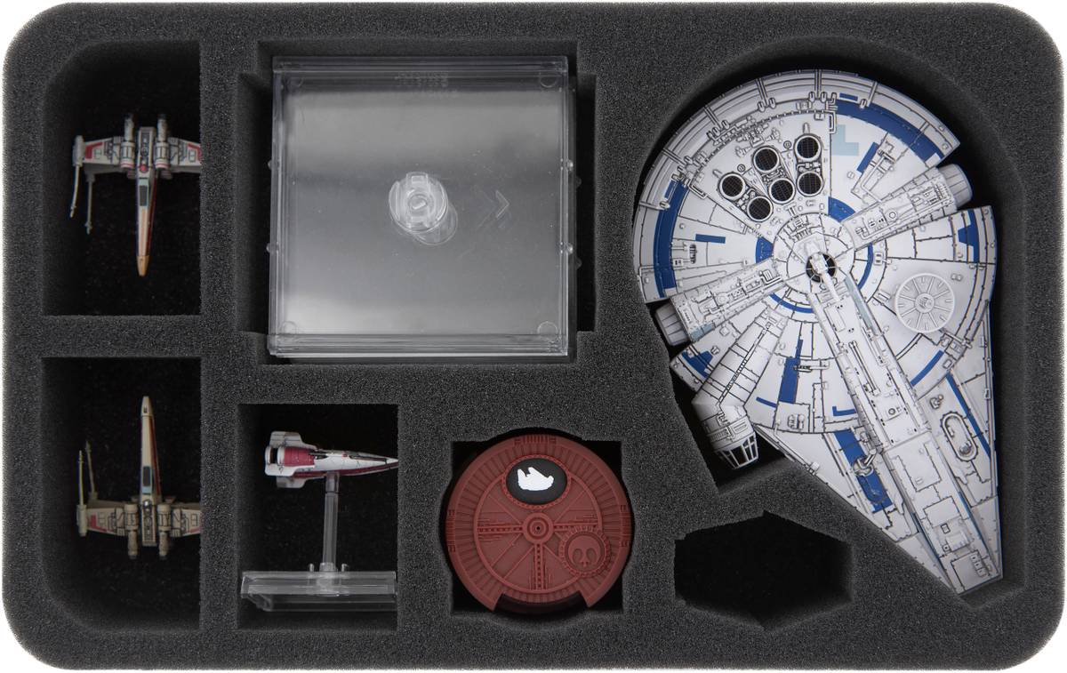 HSMEGR050BO foam tray for Star Wars X-Wing: Lando's Millennium Falcon