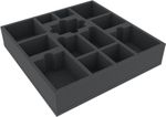 Feldherr Foam Tray Set for Folklore: The Affliction (2nd Printing) board game box - core box