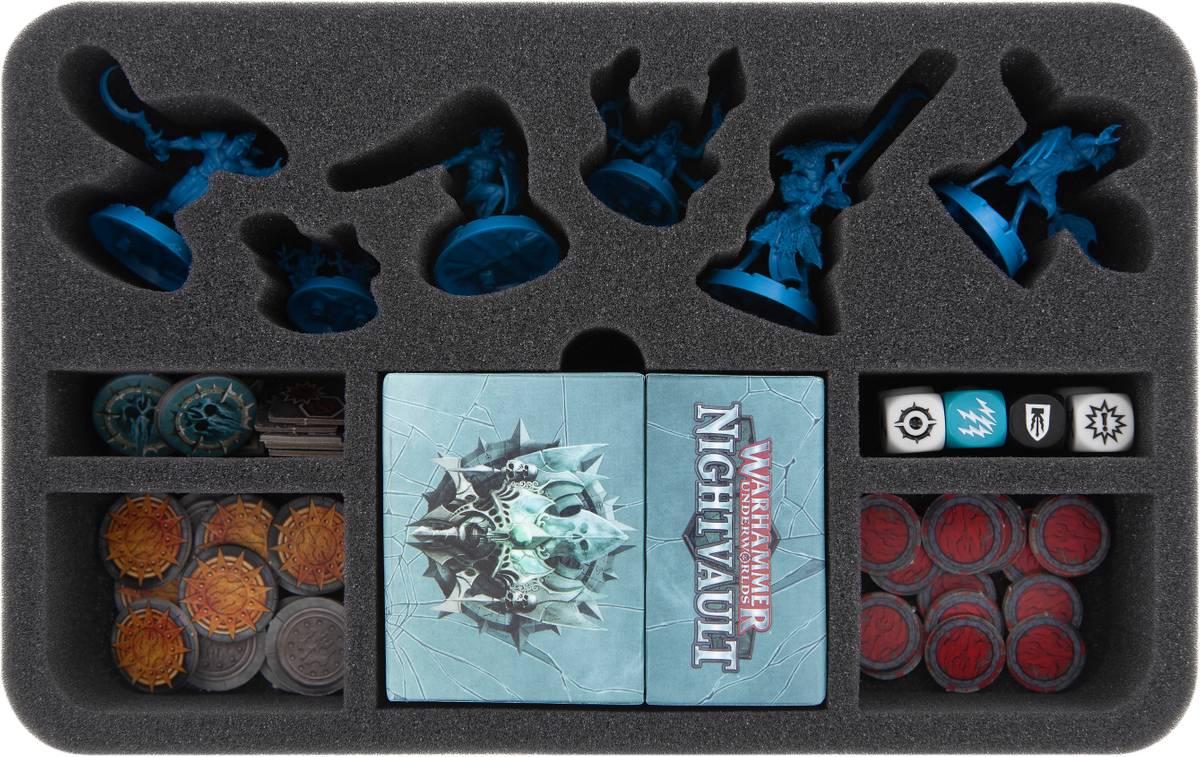 HSMEHE050BO Feldherr Schaumstoffeinlage für Warhammer Underworlds: Nightvault - Augen der Neun