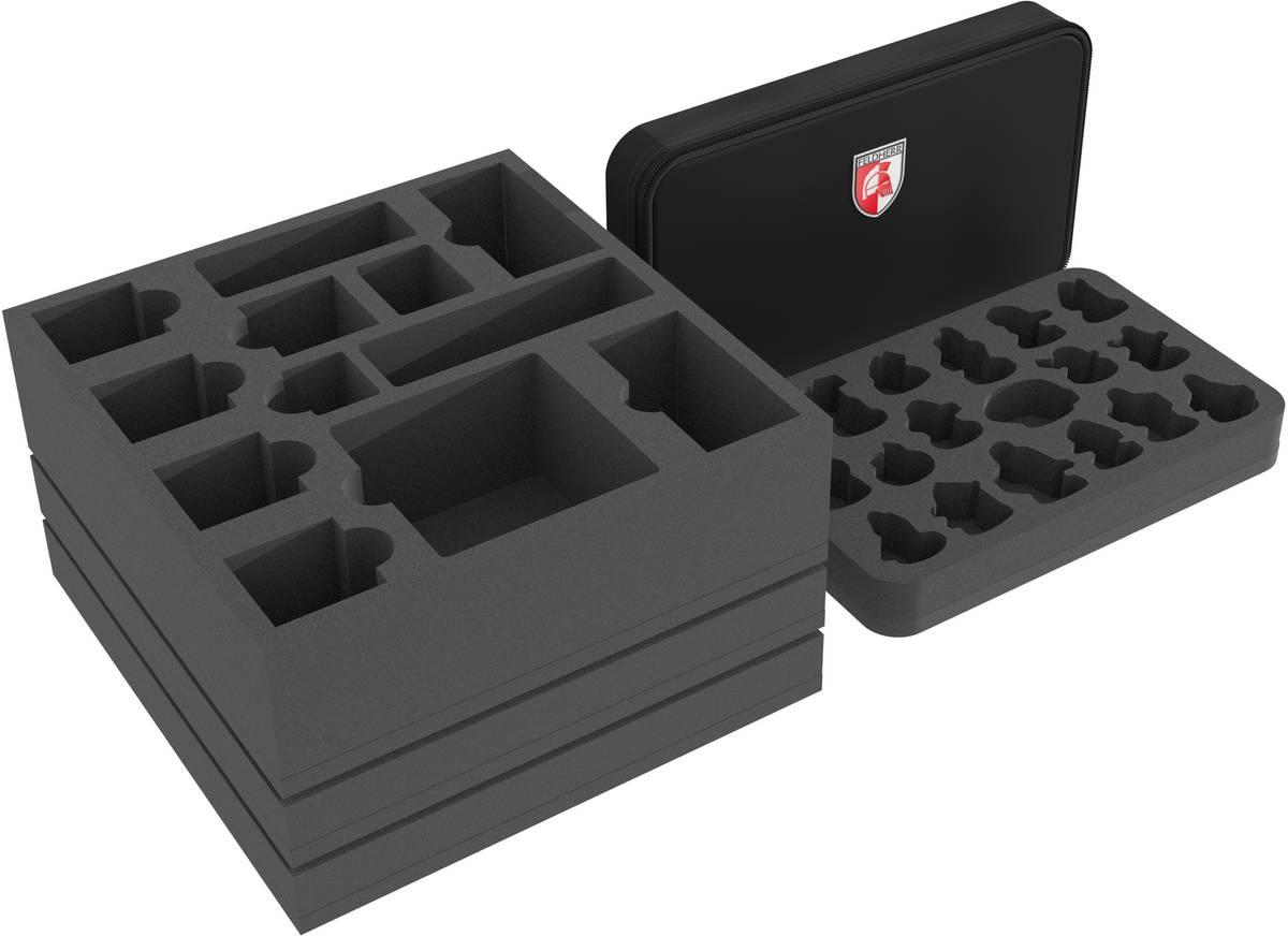 Feldherr foam tray set for Gloomhaven with MINI MINUS bag