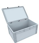 DSEB255 Euro Container with hinge lid ED 64/27 HG