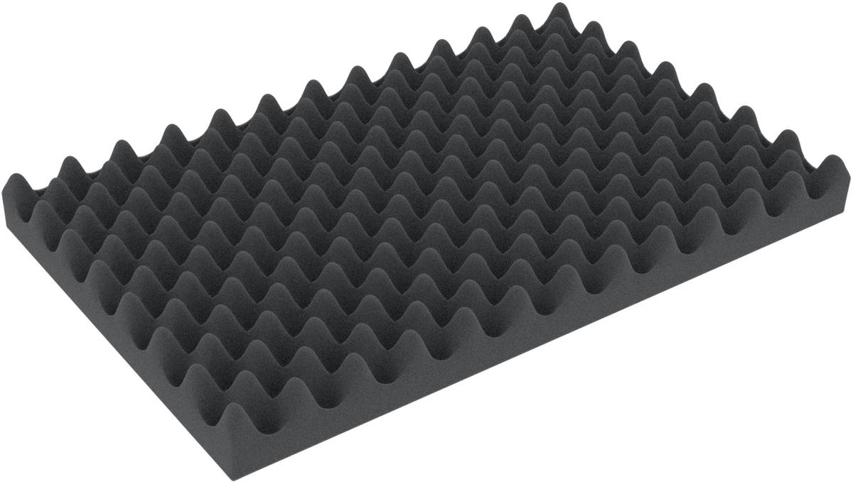 DSNP020 double-size (0,8 inches) Convoluted foam double-size