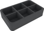 HS060SIF06 foam tray for A Song of Ice & Fire - 6 compartments