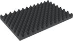 CGNP020 520 mm x 320 mm x 20 mm (0,8 inches) Convoluted foam
