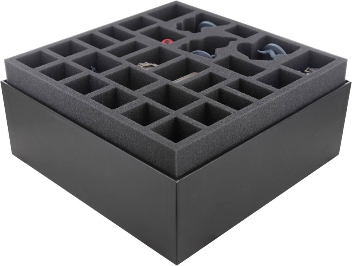 Feldherr Schaumstoff-Set für Deep Madness - Brettspielbox