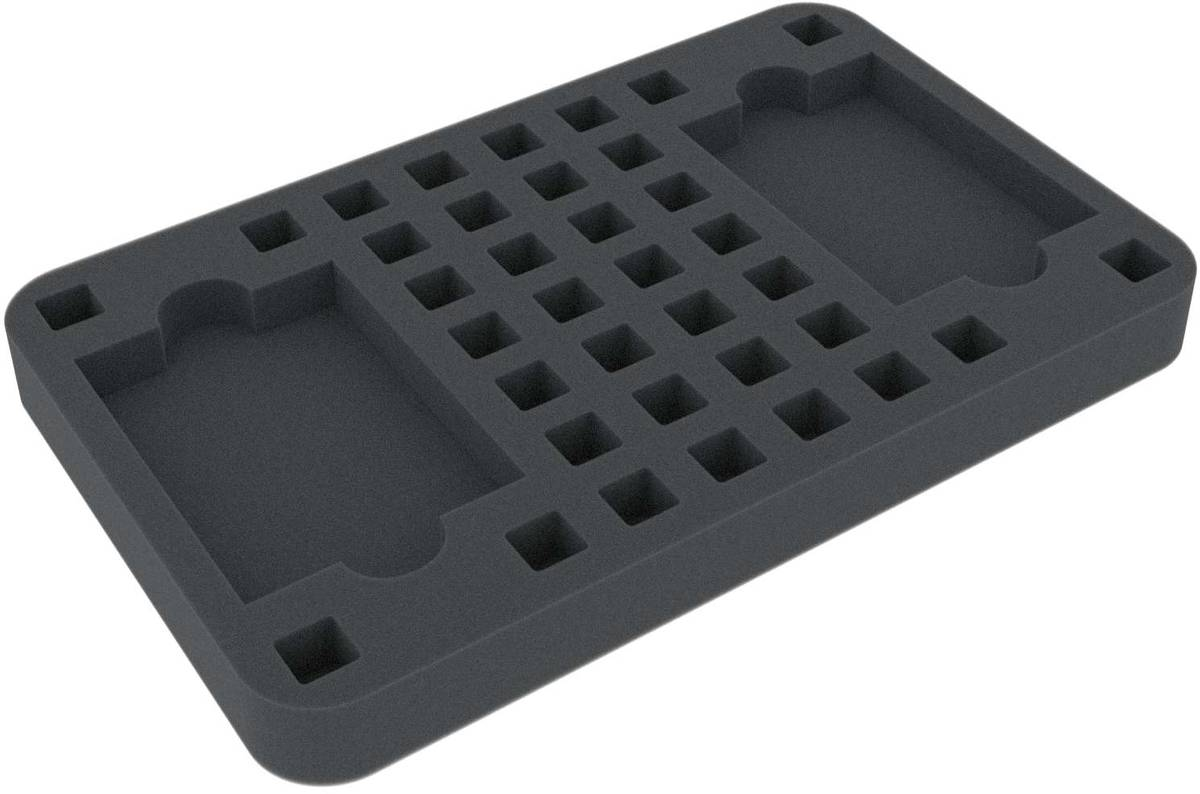 HS025KT08 foam tray for Kill Team - cards and dice