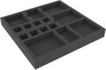 CBMEHY032BO 293 mm x 219 mm x 32 mm foam tray for board game boxes - 15 compartments