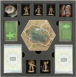 Feldherr foam tray set for Fallout: New California board game box