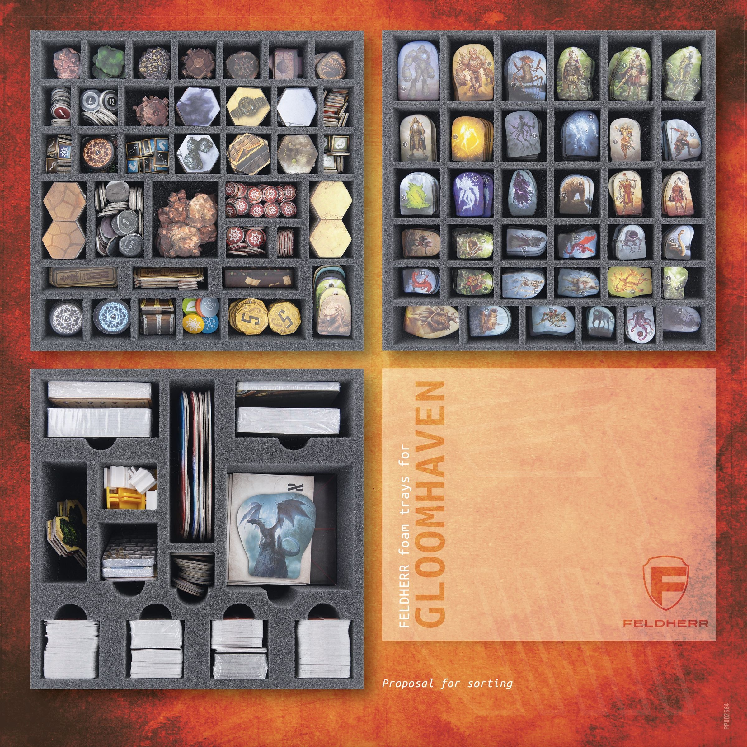 PP002564 - Flyer for Gloomhaven Board Game Box