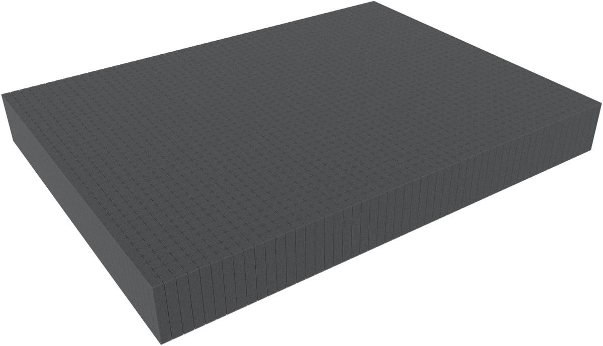 800 mm x 600 mm x 90 mm - Raster 15 mm - Pick and Pluck / Pre-Cubed foam tray