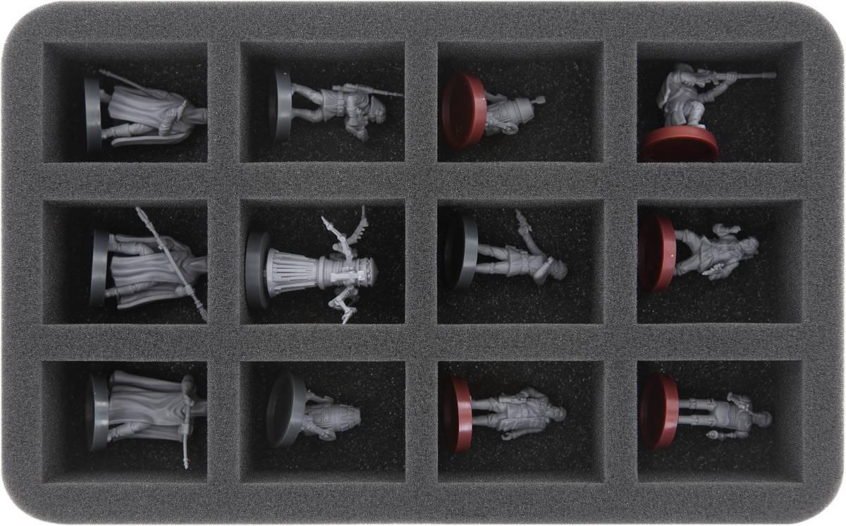 HS040LG07 foam tray for Star Wars Legion - 12 miniatures